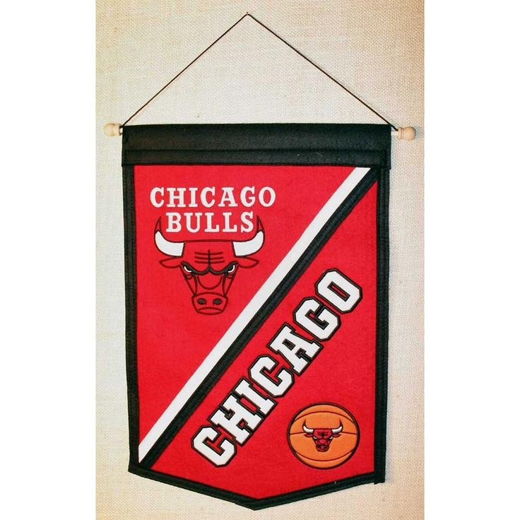 Chicago Bulls NBA Traditions Banner (12x18)