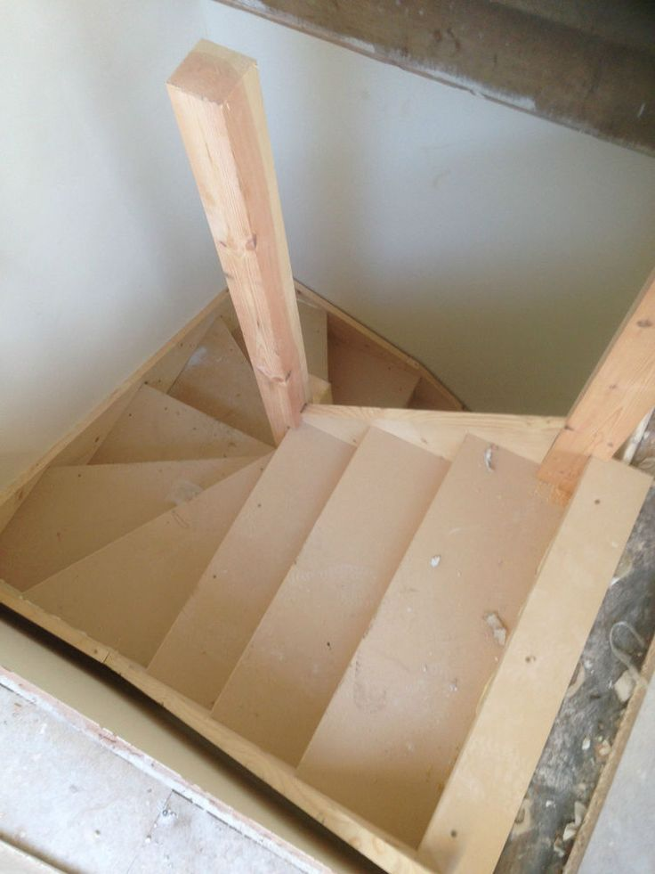 DOUBLE KITE WINDER STAIRCASES MADE TO MEASURE