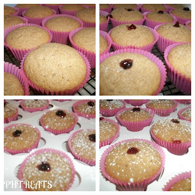 Jelly Donut Cupcakes (Whole Wheat): Cupcakes Recetas, Hey Cupcakes, Cupcakes Sweet Muffins Scon, Jelly Donuts, Donut Cupcakes, Cupcakes Katy, Desserts Cupcakes, Cupcakes Rosa-Choqu, Donuts Cupcakes
