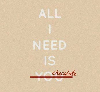 Chocolate should right with u if your reading this