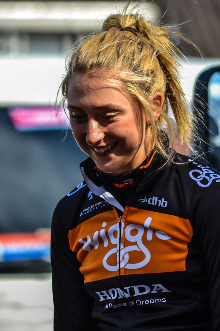 The beautiful smile of Laura Trott