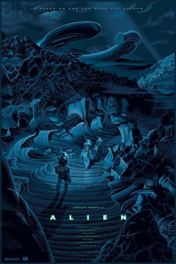 Alien poster by Laurent Durieux