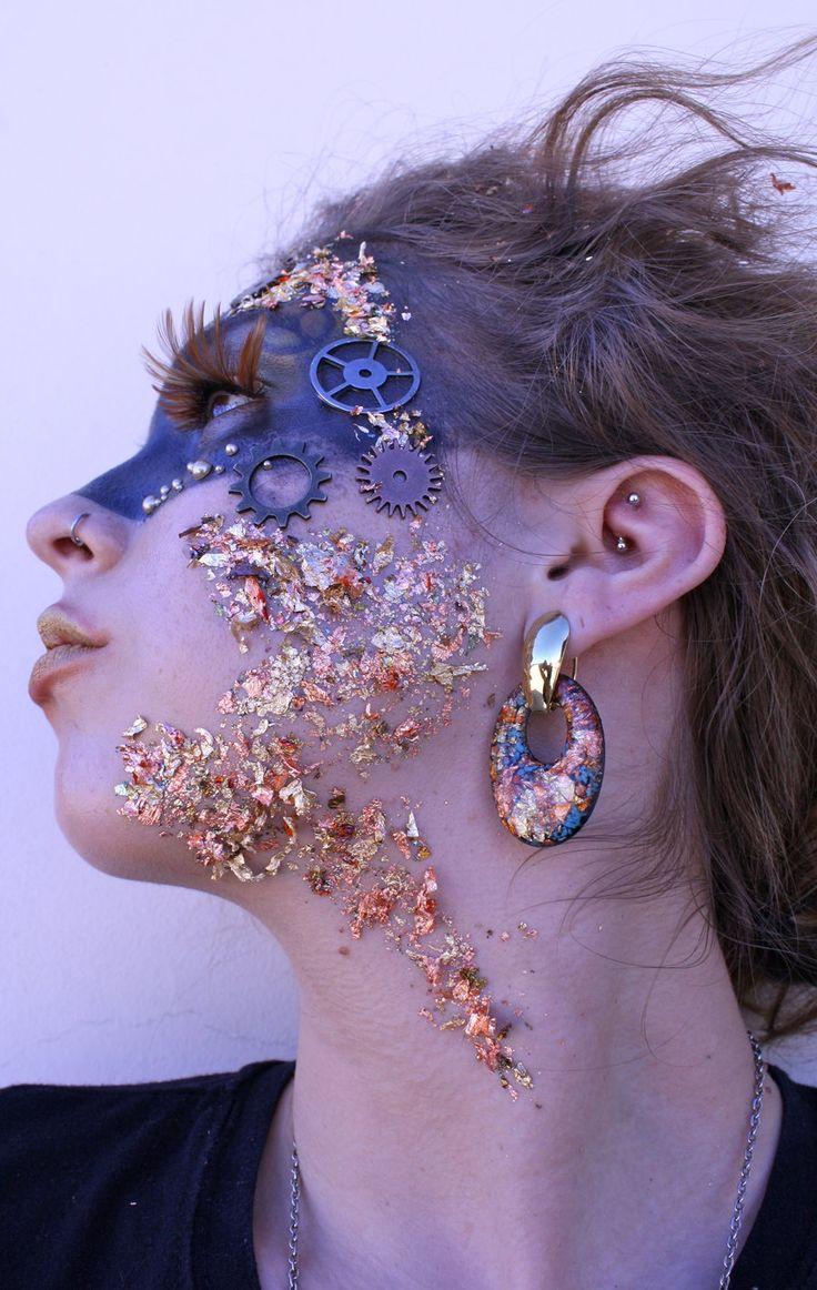 Avant Garde Makeup 1 by crummywater.deviantart.com on @DeviantArt