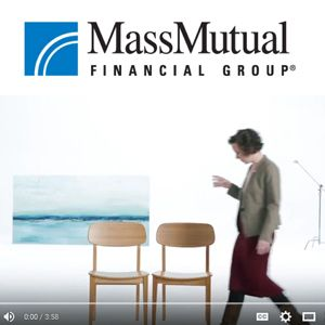 """""""Vow to Protect""""  - Mass Mutual Insurance Company advertisement, by award-winning documentary director Stacy Peralta, features Greenington Currant dining chairs."""