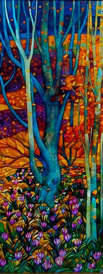 march by elisabetta trevisanArtists, Trees Art, Elisabetta Trevisan, Colors, Saatchi Online, Glasses Art, Fall Trees, Hippie Art, Stained Glasses