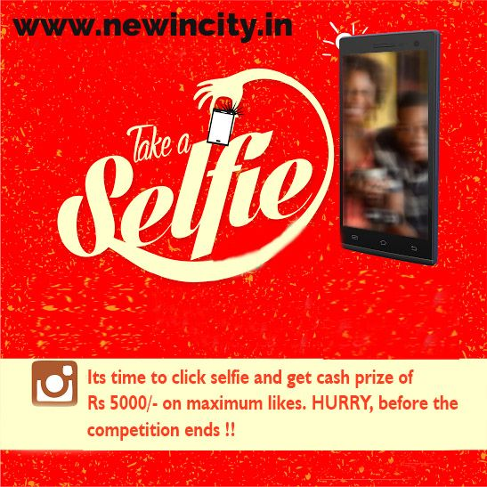 Selfie Competition at www.newincity.in Winning Prize is 5000/- Participate Now Hurry up. #NewInCity #OnlineServiceinJodhpur #SelfieCompetition #JodhpurNews