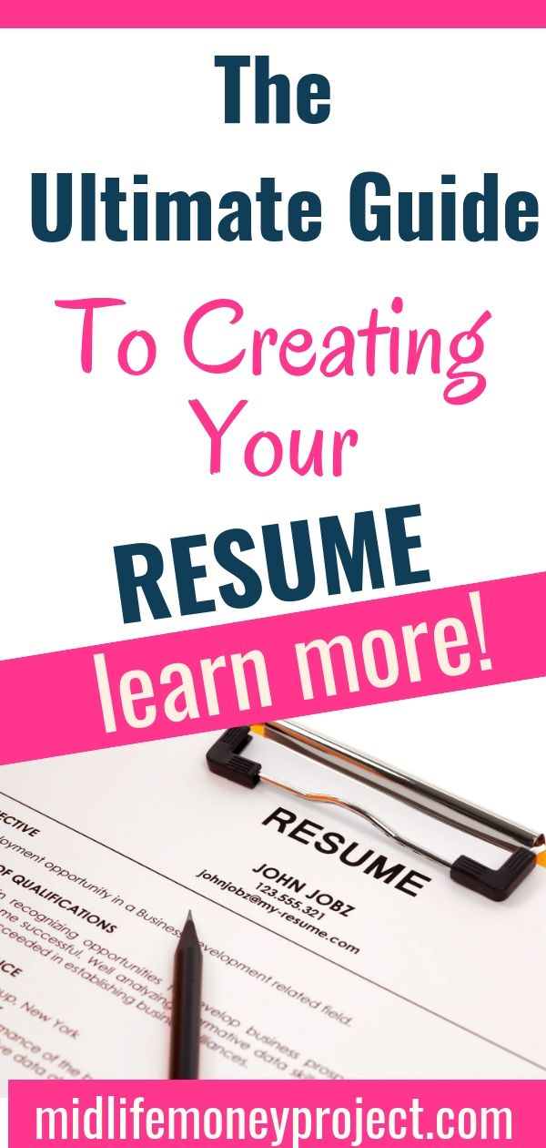 The Ultimate Guide To Creating A Resume