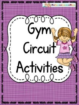 Full of Physical Education circuit tips and posters.   by RclassroomsRus