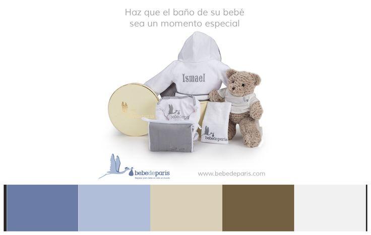 Haz que el momento del baño de su bebé sea especial.Personaliza el primer albornoz del peque con su nombre. Un regalo original y que les encantará a los nuevos papis <3 #colores #gamadecolores #pantone #bebes #regalosnacimiento #regalosparabebes #albornozinfantil #regalosdebebe