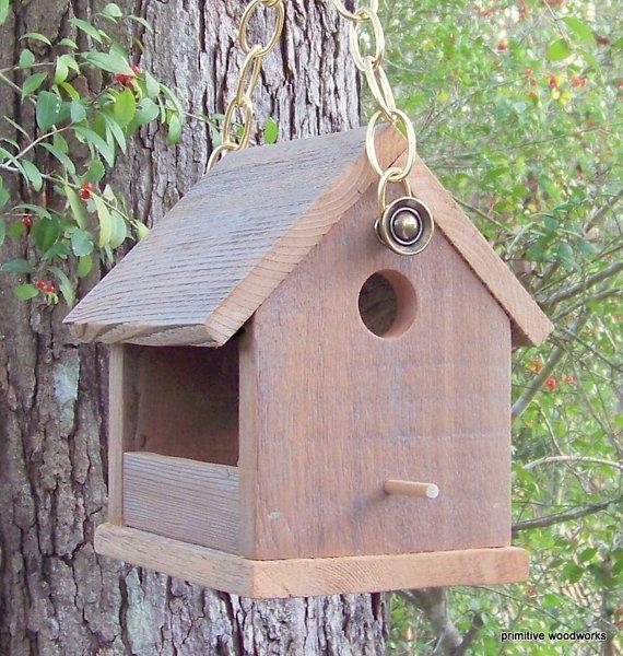 25 Unique Wooden Bird Feeders Ideas On Pinterest Diy
