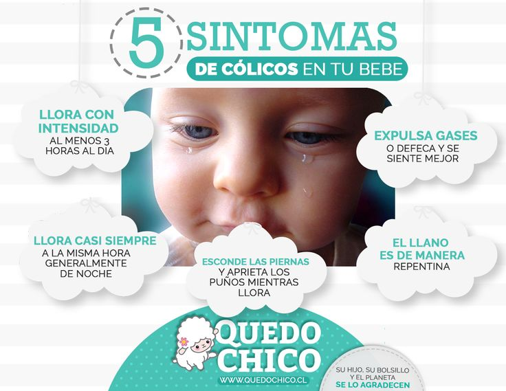 En #QuedoChico te brindamos los consejos y la información necesaria para la crianza de tus pequeños. ¡Chequea nuestros 5 síntomas de cólicos en tu bebé!