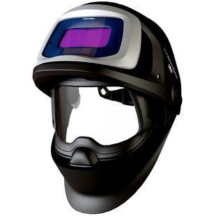 Speedglas welding helmet 9100v FX features flip up combo of auto darkening welding shield & protective visor