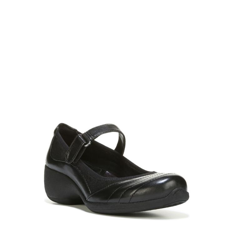 Naturalizer Women's Jonnie Mary Jane Shoes (Black) - 10.0 M