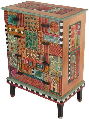 Sticks Dresser #2 from Quirks of Art