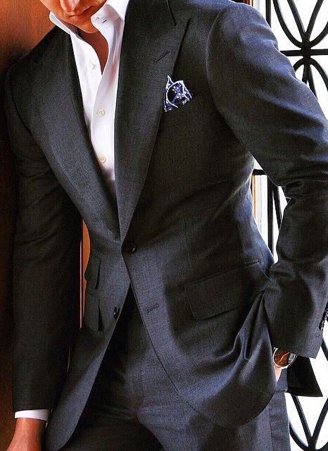 Charles Dean handcrafted two-piece suit