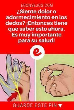 Adormecimiento de pies | ¿Siente dolor o adormecimiento en los dedos? ¡Entonces tiene que saber esto ahora. Es muy importante para su salud! | ¿Siente dolor o adormecimiento en los dedos? ¡Entonces tiene que saber esto ahora. Es muy importante para su salud!