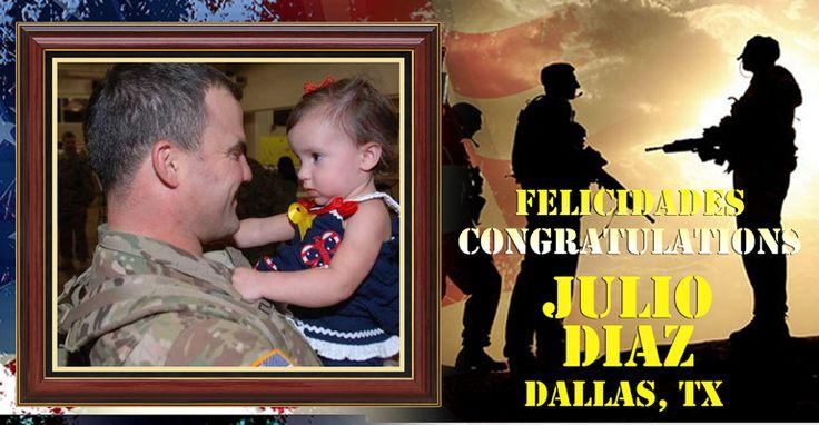 FelicidadesJulio Diaz por participar y ganar $500 en nuestro #concurso del dia de #Veteranos. Entra para mas oportunidades en: listaslocales.com...