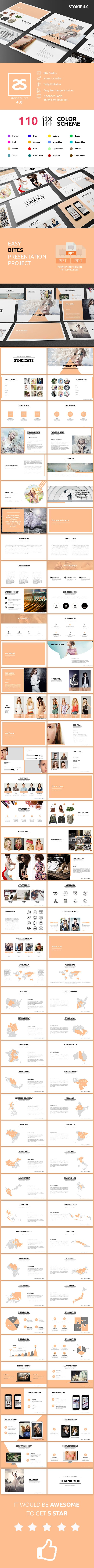 2323 best powerpoint template images on pinterest presentation fashion powerpoint template 40 toneelgroepblik Images