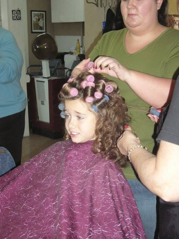 mom puts curlers in boys hair 82 best images about rollers rods and dryers on