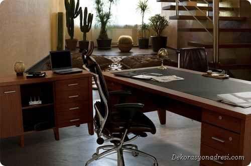 nice Siyah Ofis Mobilya Seçimi