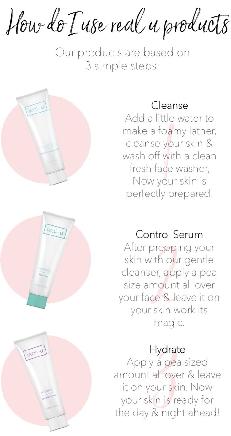 https://real-u.com.au  Skincare like you've never seen before. Targeting breakout prone skin without the nasties. New technology unique to real-u ✨