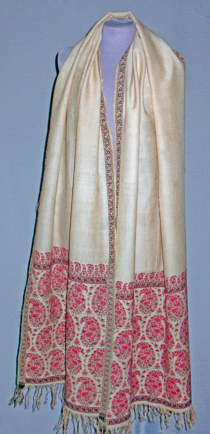 Shawl. Cashmere, silk. India, 1808-10.