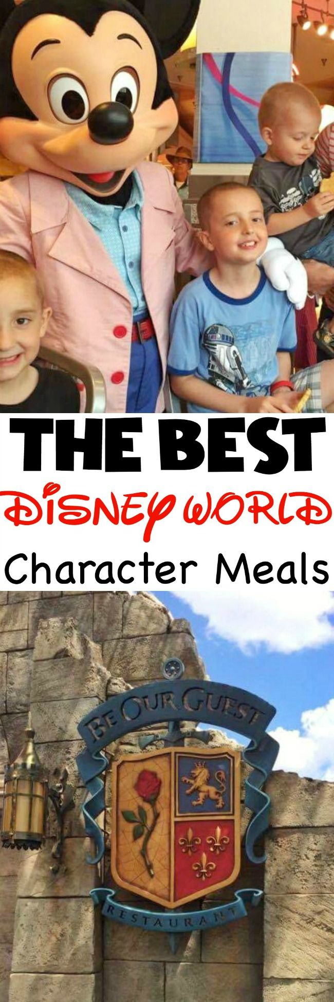 Tips and Tricks for the Best Disney World Character Meals at Magic Kingdom, Epcot, Disney's Animal Kingdom and Disney's Hollywood Studios.