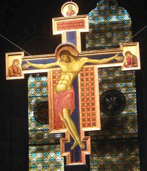 Arezzo, Crocifisso, Cimabue, 1268-1271, Chiesa di San Domenico