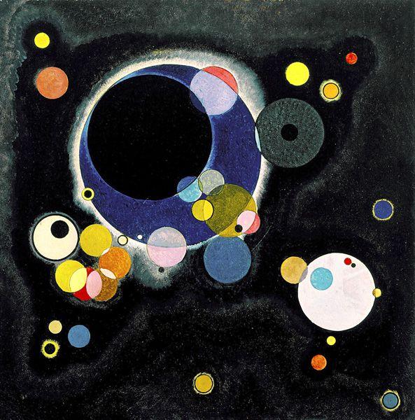Wassily Kandinsky - Several Circles