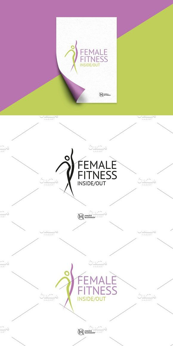 Female Fitness Logo Fitness Logo Fit Women Vector Logo How logoground works new logos logos by category logo collections (top 20 lists) the top 100 logos community page (designers, sales etc.) fit woman. pinterest