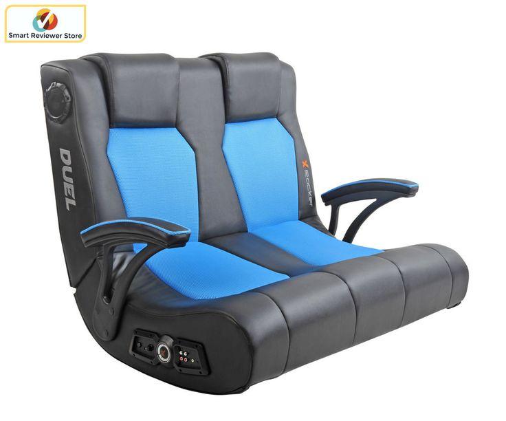Ergonomic xrocker dual commander gaming chair 21 audio