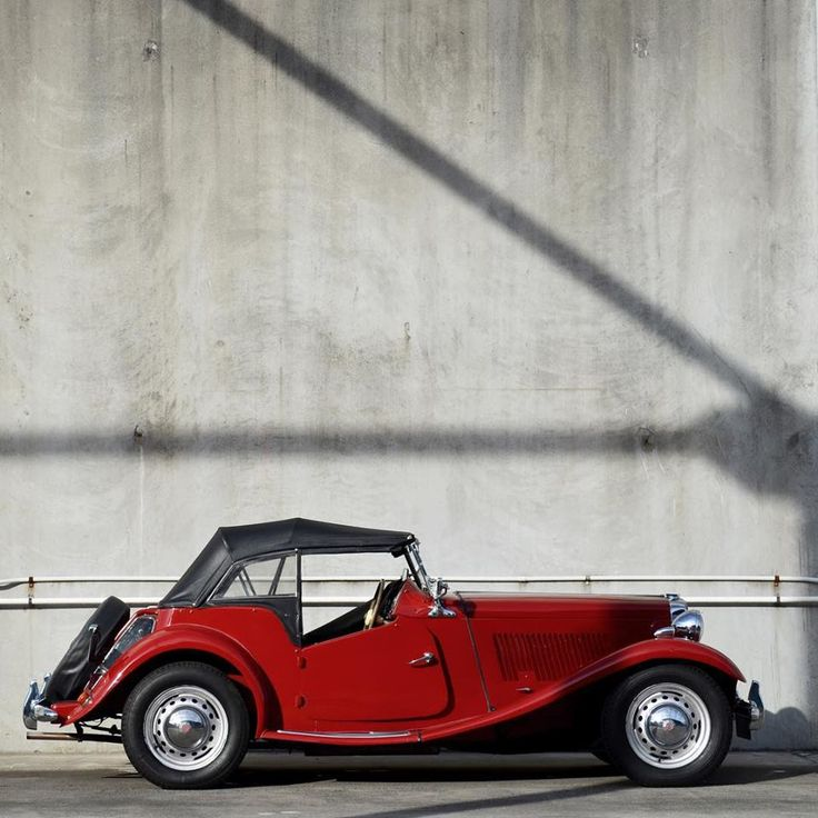 Now this is automotive perfection. Check out our 1952 MG TD.