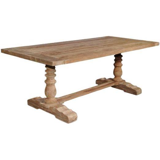 Best Pedestal Dining Tables Images On Pinterest Kitchen - Wood pedestal dining table