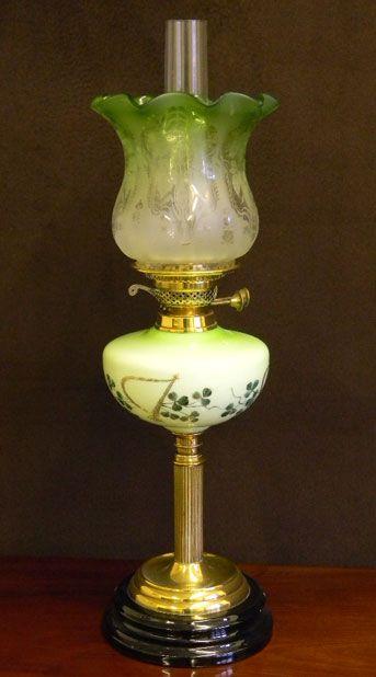 oil lamps lighting antique. Black Bedroom Furniture Sets. Home Design Ideas