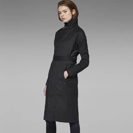 COCOON MINOR WOOL RELAX TRENCH