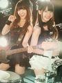 Yuko Oshima and Yuki Kashiwagi from AKB48