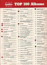 cash box top 100 | ... Harrison All things # 1 on Cash Box Top 100 Albums chart Jan 9 1971