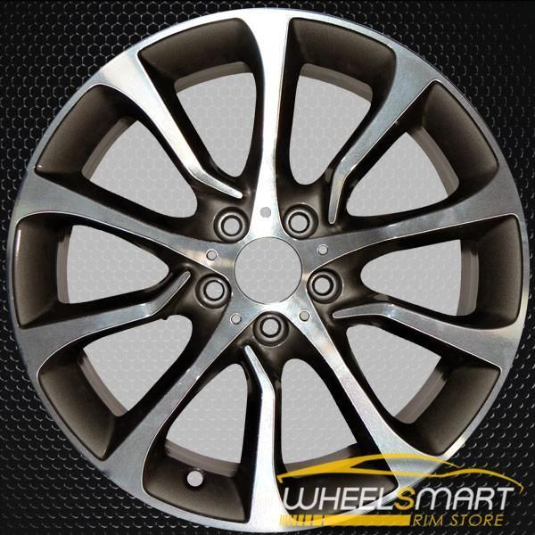 19 Bmw 5 Series Rims For Sale 2012 2016 Machined Oem Wheel 86001