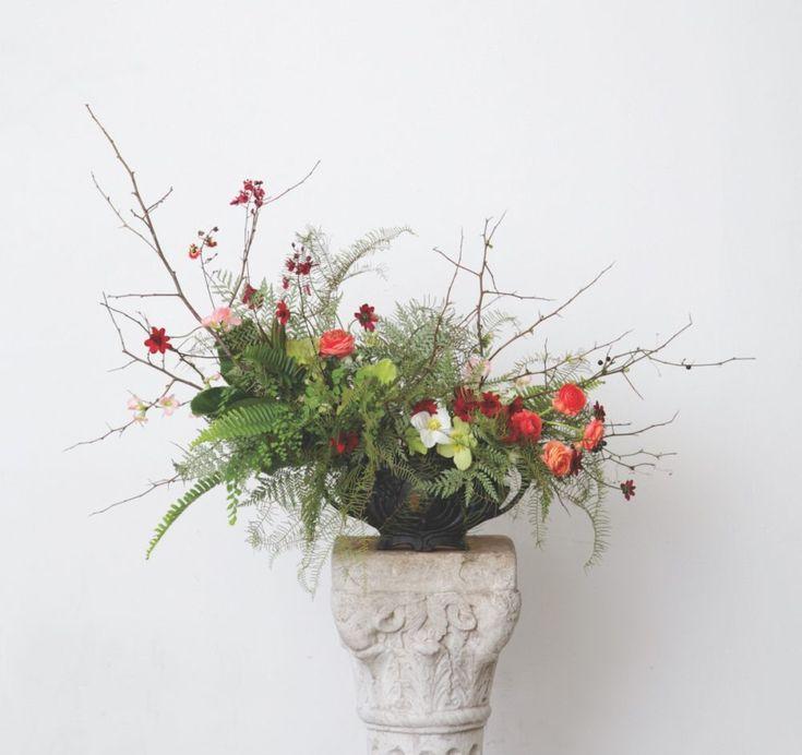 24 best spring flower arrangements images on pinterest spring floral designer emily thompson shows how to craft a spring forest flower arrangement reminiscent of natures mightylinksfo