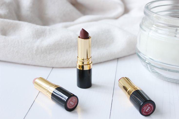 The Revlon Superlustrous Lipsticks | IRIDESCENT PLACES