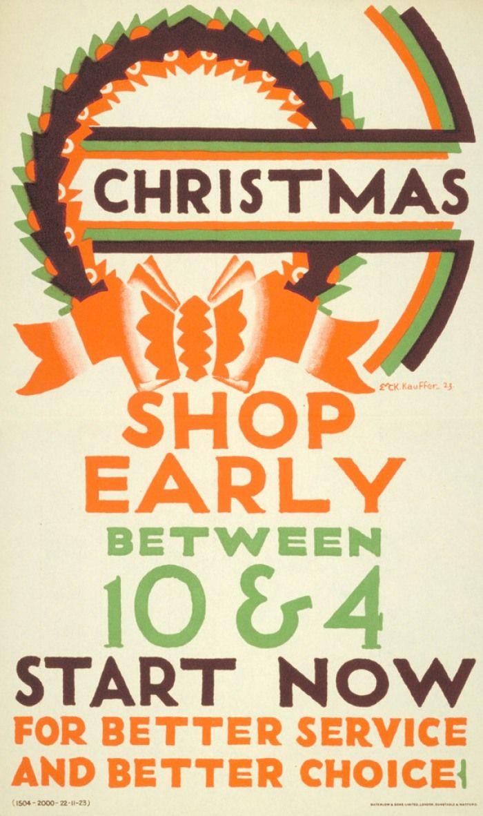 Poster design 1920s - London Underground Poster
