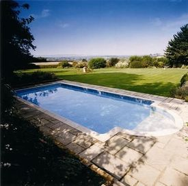 Block and liner pool - 24ft x 12ft - £3395