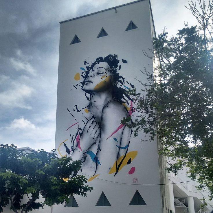 Beautiful work by talented @pablomalafaia #globalstreetart #brazil #brazilstreetart #woman #abstract #mural #feelings http://globalstreetart.com/pablomalafaia