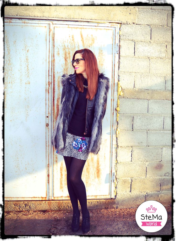 How to wear the faux fur vest! Soon on our blog!