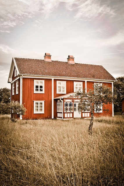 Home in Sweden.
