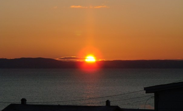 Sunrise over Conception Bay, NL