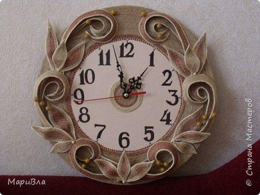 Вдохновясь чудесными работами Веры Пушиной и Jalilija http://stranamasterov.ru/user/402095, создалась у меня пара настенных часов. Эти - уже вторые, сделаны по просьбе коллеги. фото 6