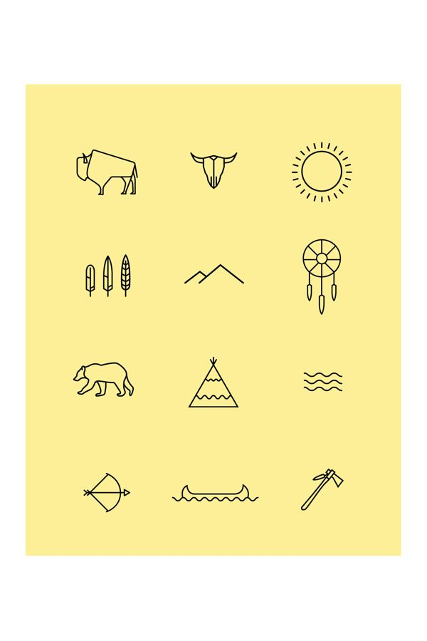 The Natives - Iconography on Behance