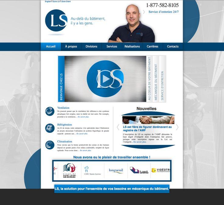 Conception du site Web - Réalisation de vidéos http://entreprisesls.com/index.php