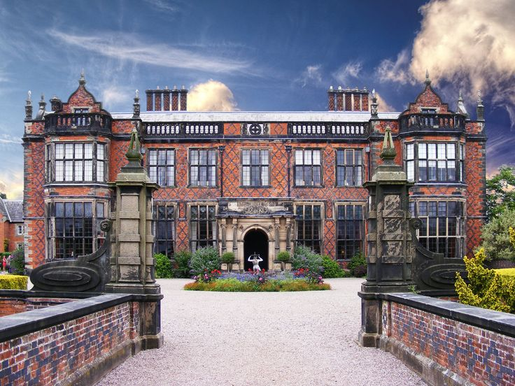 Arley Hall, near Northwich, Cheshire. By J. Latham, 1833-41, with further work by Salvin, 1853, and T.H. Wyatt, 1860, for R.E. Egerton-Warburton.